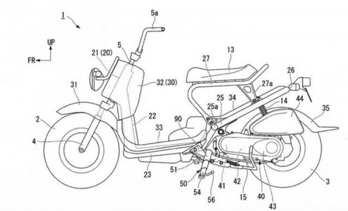 honda telescopic side stand design 2