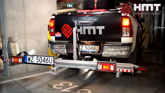 HMT Rampa do przewozu motocykli