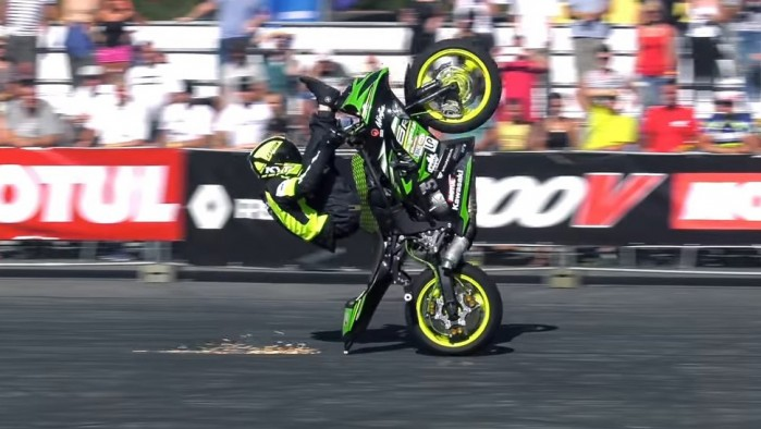 Polish Ninja 1st Place Stunt Riding World Championship z