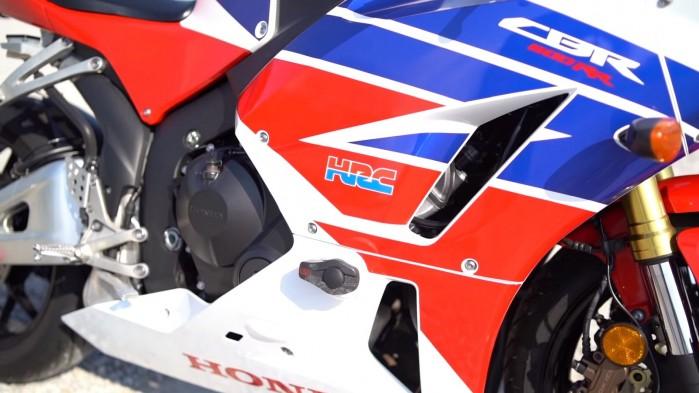 Honda CBR600RR z bliska