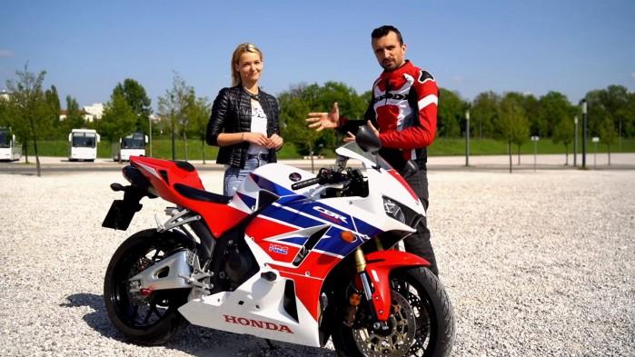 Honda CBR 600 RR 2014 Barry i Ania