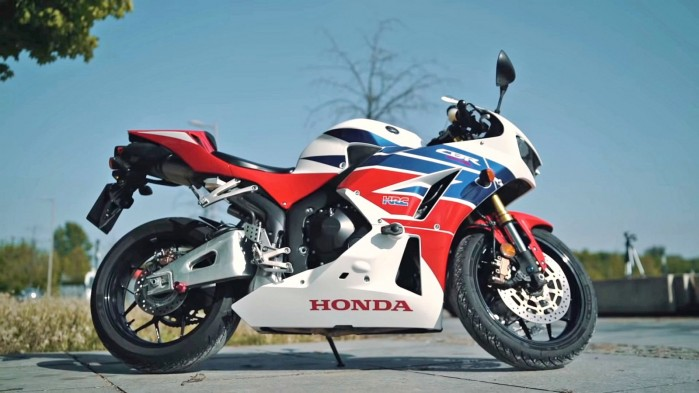 Honda CBR 600 RR 2014 profil