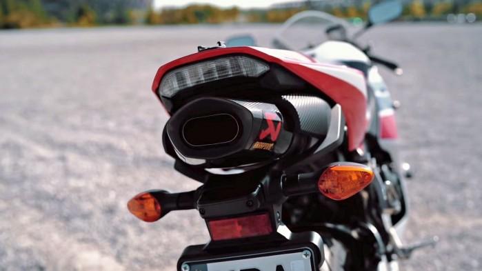Honda CBR 600 RR 2014 wydech