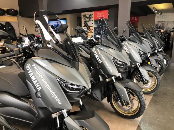 Yamaha wspiera medykow 6