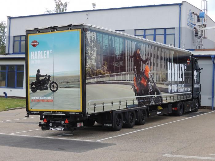 Harley on Tour ciezarowka