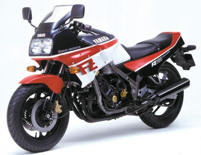 Yamaha FZ750 85