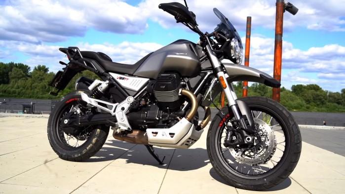 Moto Guzzi V85 TT profil