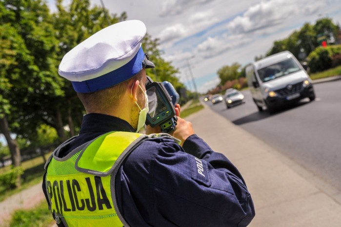 policja radar kontrola