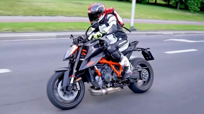 KTM 1290 Super Duke R 2020 dynamika