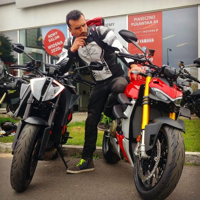KTM vs Ducati