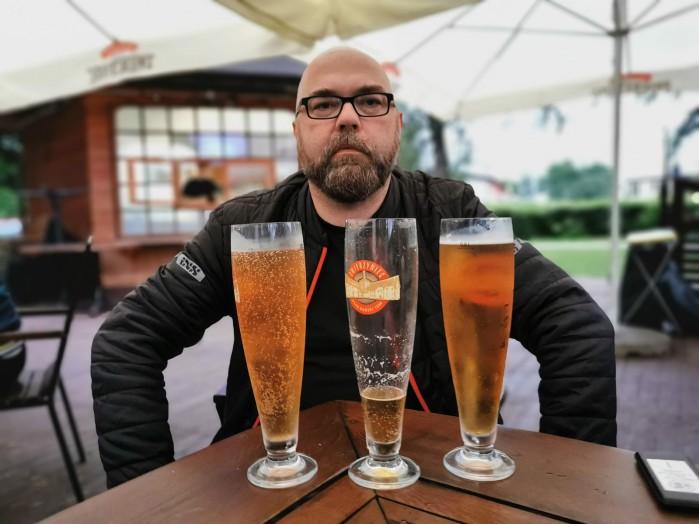 Roztocze motocyklem piwo zwierzyniec