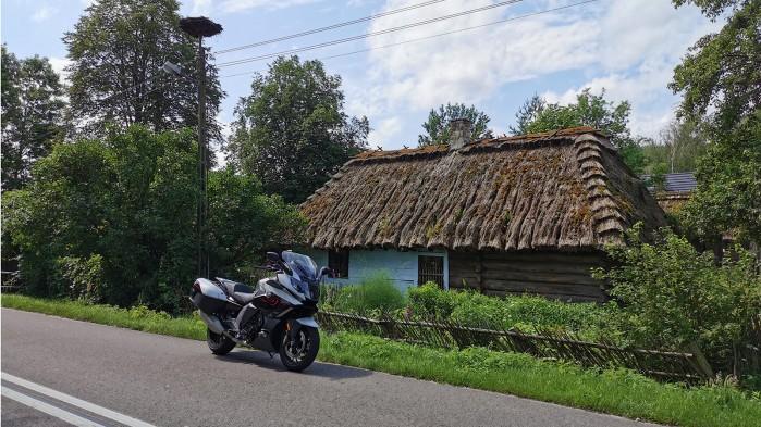 Roztocze motocyklem zagroda guciow