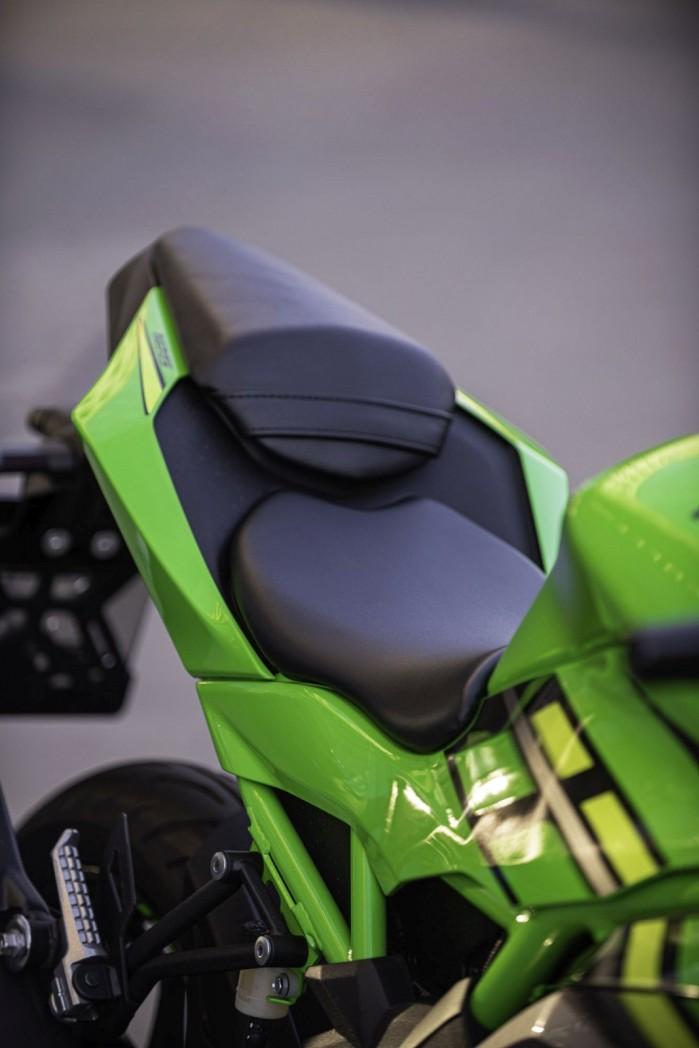 ninja 125 siedzenie