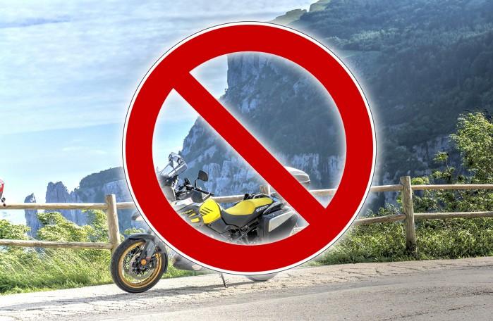 szwajcaria zakaz motocykli
