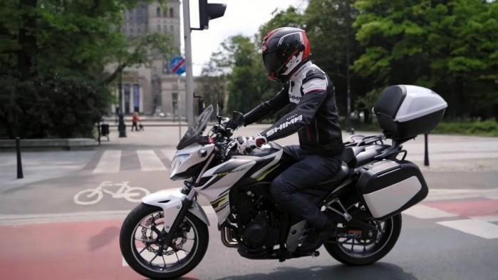 Honda CB 500F 2015 jazda