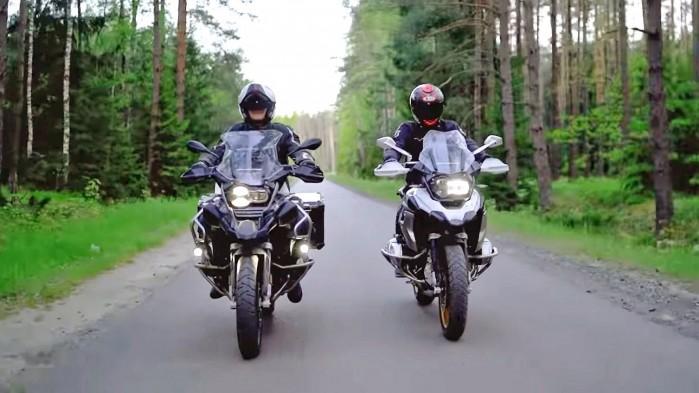 Barry Moto i Kuba Midel BMW