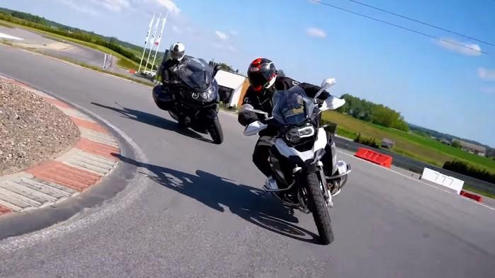 Barry Moto i Kuba Midel na torze