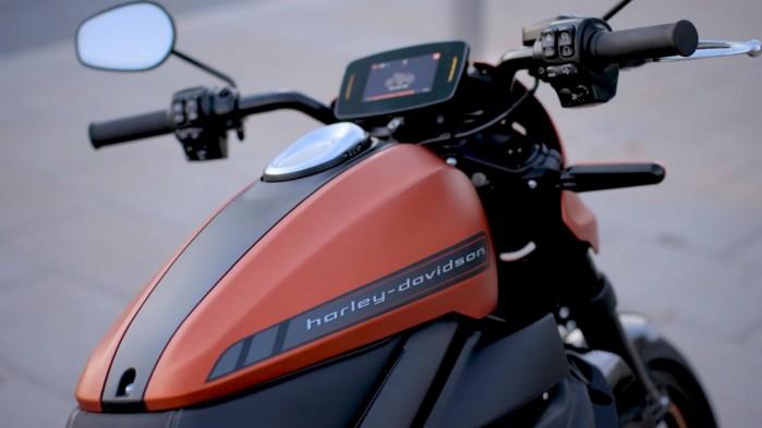 Harley Davidson LiveWire statyka