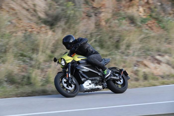 elektryczny motocykl harley