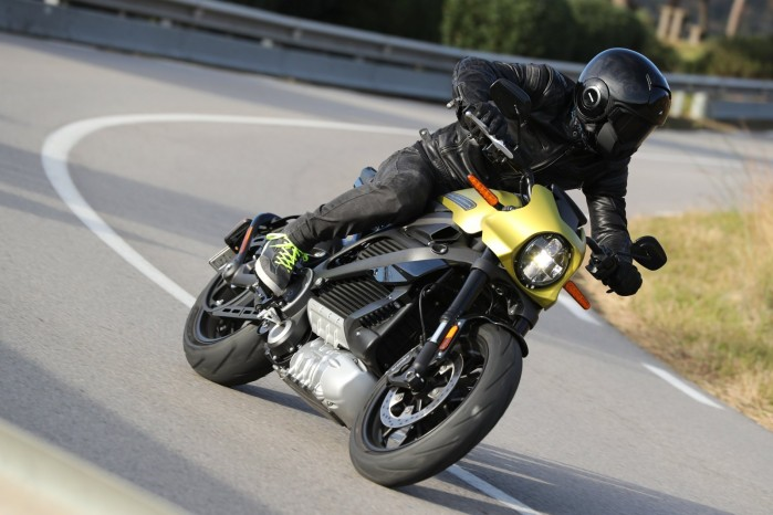 harley motocykl na prad
