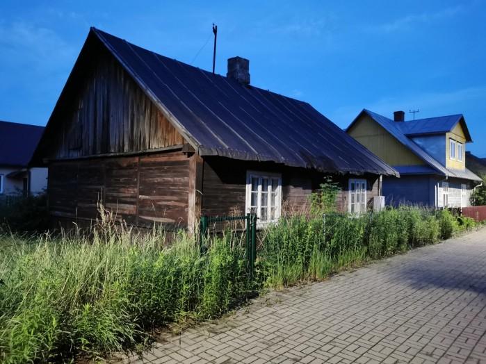 Borek drewniane domy zwierzyniec