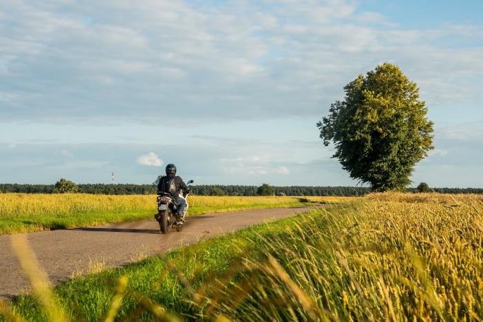 Krajobraz Moto Guzzi