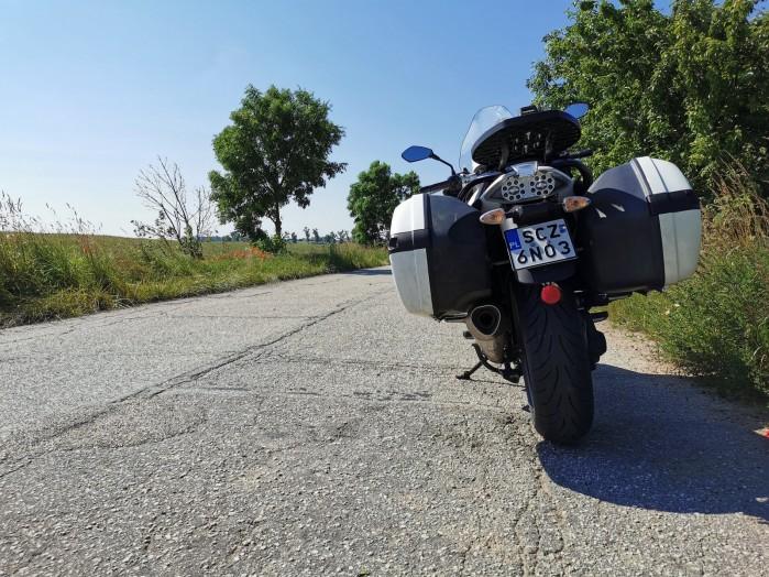 Moto Guzzi Norge 1200 droga