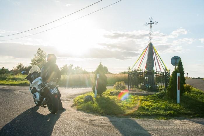 Moto Guzzi Norge kapliczka