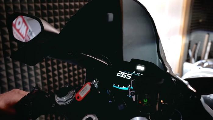 BMW S1000RR test na hamowni