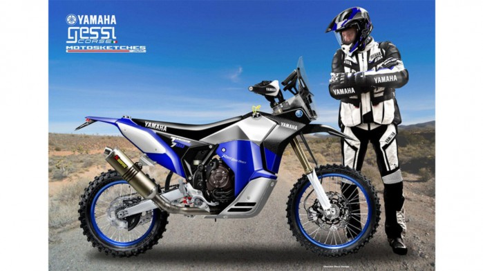 Yamaha Tenere700 RallyRacer 09