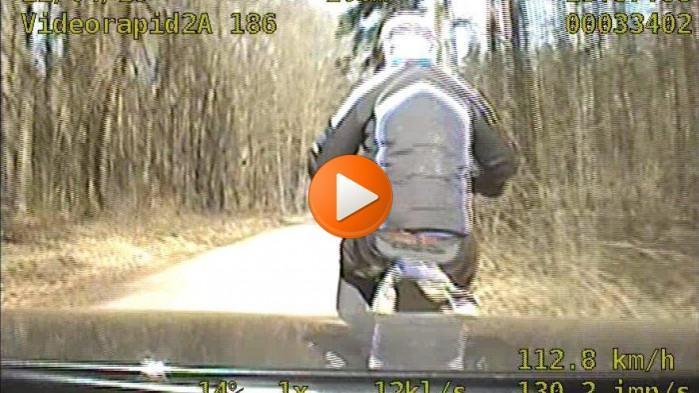 poscig potracenie policja motocykl zz