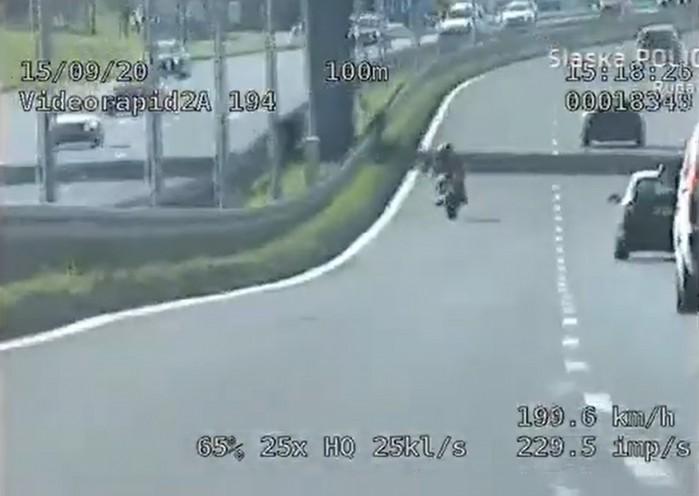 grupa speed motocyklisci 193 km h ruda slaska