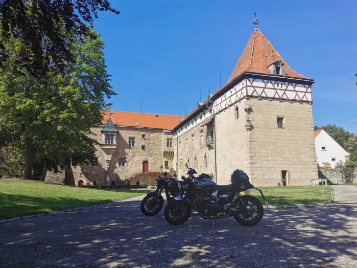 trasy atrakcje czechy vodni hrad budyne