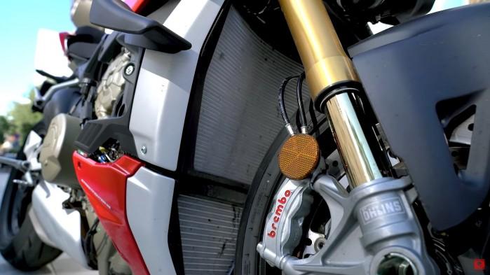 Ducati Streetfighter V4S chlodnica