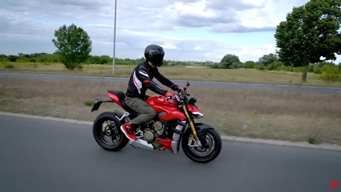 Ducati Streetfighter V4S trasa