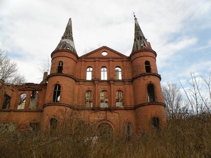 Ruiny pa acu w Juchowie 7alaskan