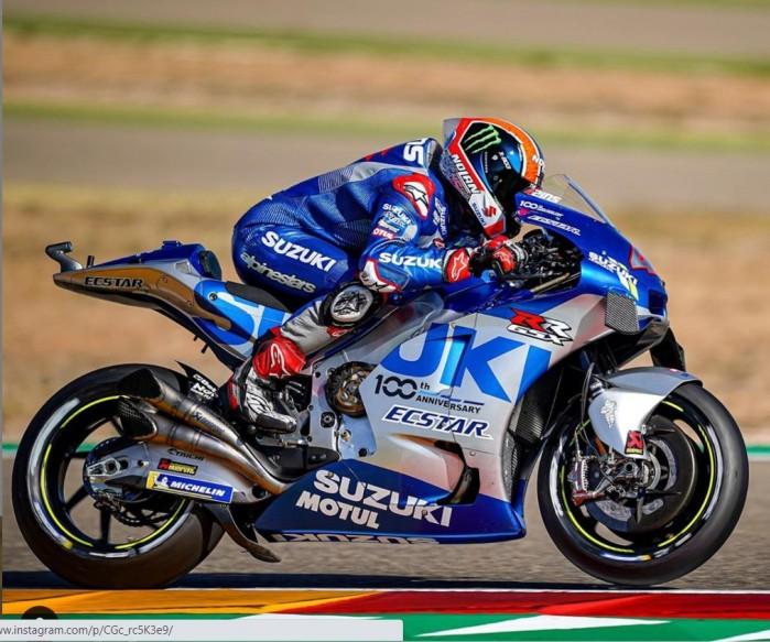alex rins gp aragon motogp 2020