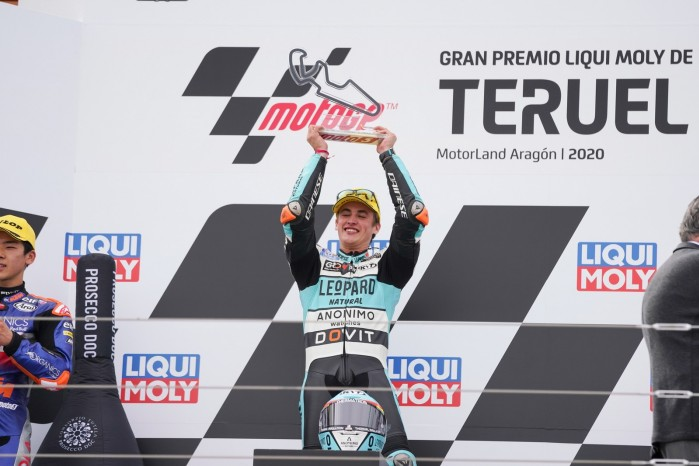 312344 Masia takes record 800th Grand Prix win for Honda
