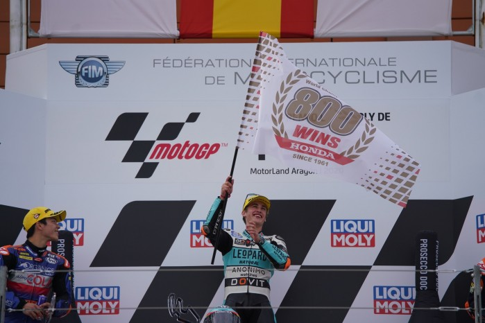 312345 Masia takes record 800th Grand Prix win for Honda