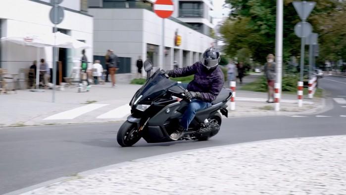 BMW C Evolution na drodze