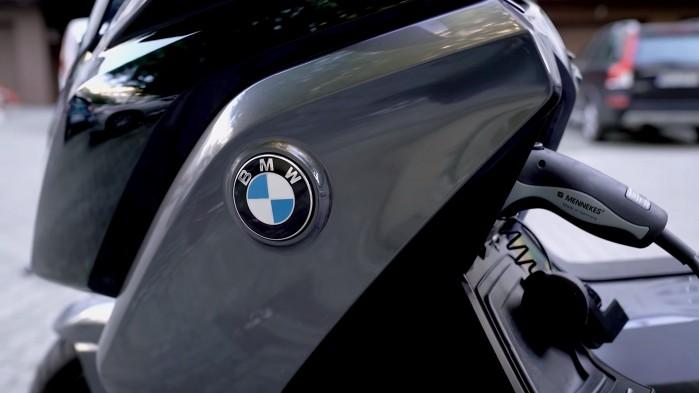 BMW C Evolution test skutera ekektrycznego