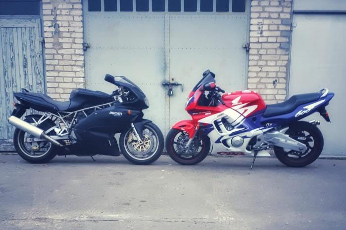 Ducati vs Honda