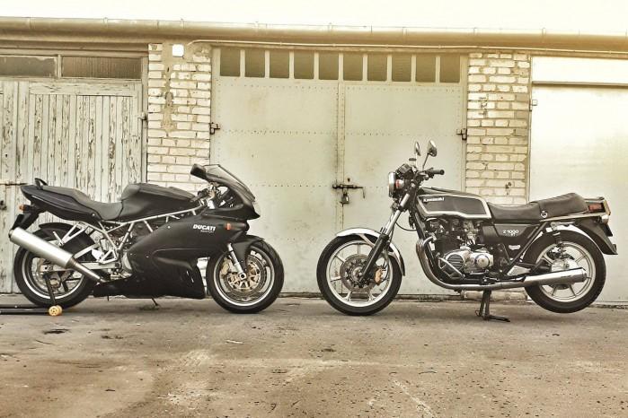 Ducati vs Kawasaki