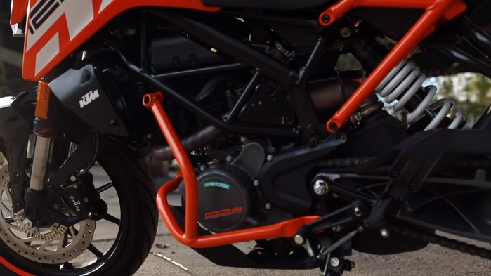 KTM Duke 125 silnik