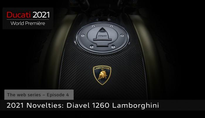 ducati world premiere diavel 1260 lamborghini