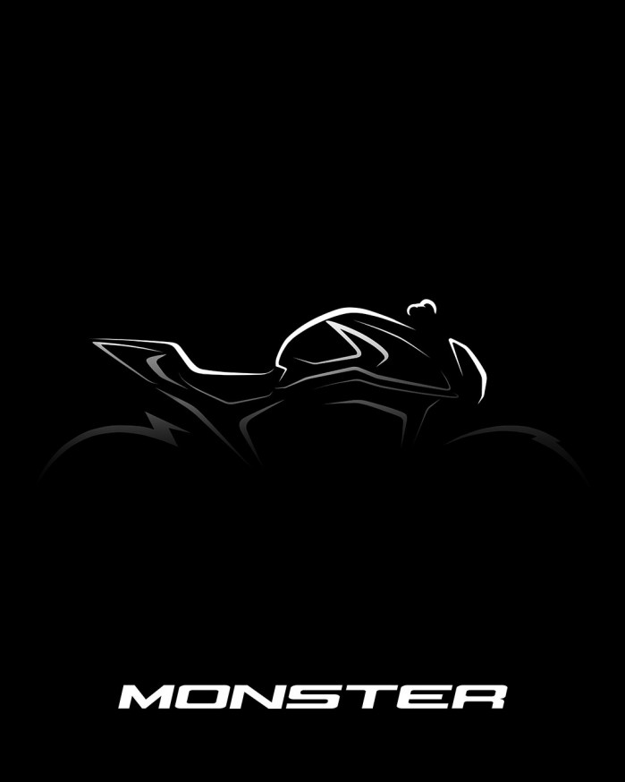 ducati monster 2021 teaser