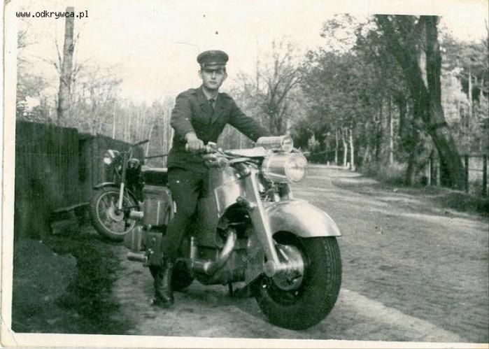 motocykl MSS