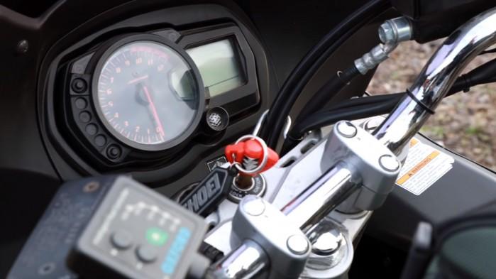 Suzuki GSX 1250 FA zegary