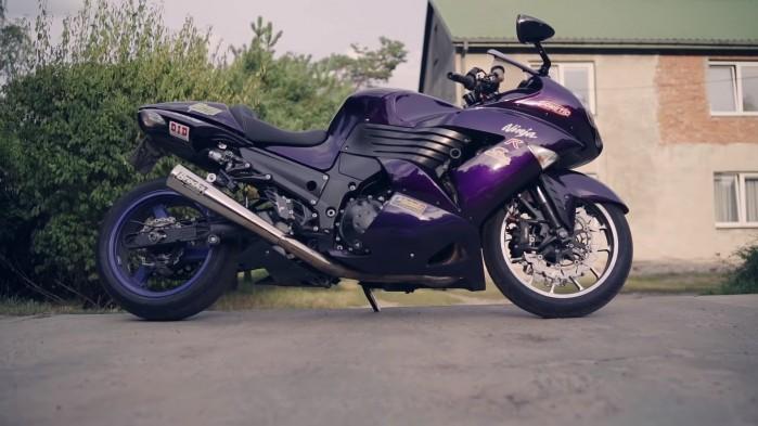 Kawasaki ZZR 1400 ZX 14