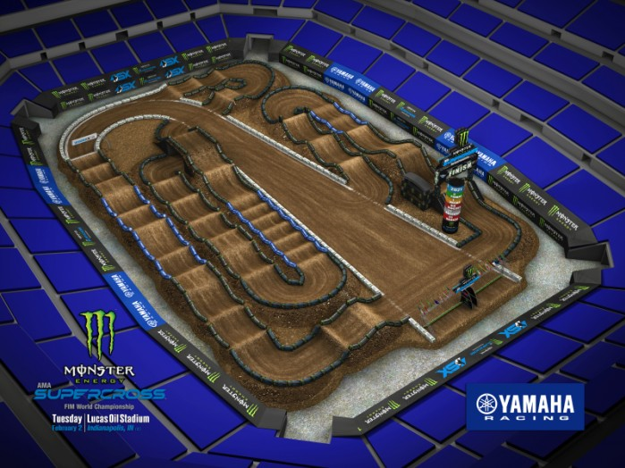 indy 2 track map